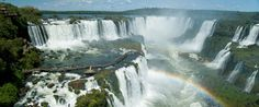 Iguacu falls in Brazil and Argentina--I can go to El Diablo at least ten times!