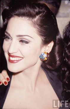 """Madonna (1991) for the """"Truth or dare"""" premiere in Los Angeles"""