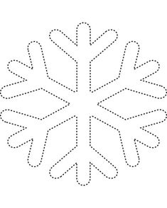 Snowflake template 2 - Free Printable Coloring Pages and other apparel, accessories and trends. Browse and shop related looks. Snowflake Template, Art Template, Printable Templates, Snowflake Pattern, Simple Snowflake, Snowflake Outline, Frozen Snowflake, Snowflake Shape, Box Templates