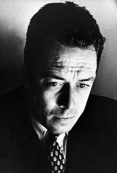 "Albert Camus (1913 - 1960) French author of ""L'Etranger"", ""Le Mythe de Sisphye"", and ""Le Premier Homme"", winner of the Nobel Prize for Literature"