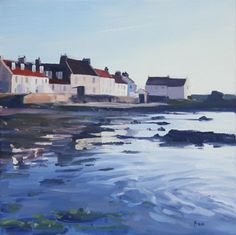 View all John BELL art, paintings and contemporary Scottish art at the Red Rag art gallery Landscape Art, Landscape Paintings, Landscapes, Seascape Paintings, Acrylic Paintings, Oil Paintings, Bell Art, Coastal Art, Beach Scenes