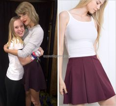 October 20, 2015   Loft '89 (x)    Lexington, Kentucky  Get the look: Brandy Melville 'Jacy Skirt' - $24  Wear it with: Forever21 top and Forever21 booties