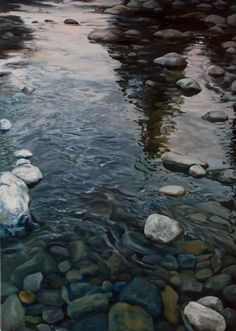 The East Fork   Fine Art of Tom Wheeler, realistic Oil Paintings of Nature and People