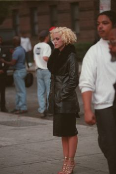 "madonnascrapbook: "" Madonna while filming her video ""Secret"" in 1994 """