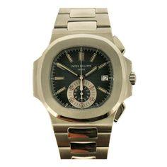 Patek Philippe Stainless Steel Nautilus Wristwatch Ref 5980/1A
