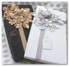 Coul'Heure Papier: Boîte Cadeau en Habits de Fête [Tutoriel]