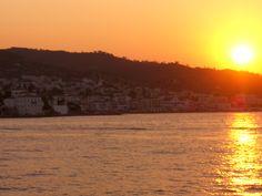 Greek Islands, Greece, Exotic, Celestial, Sunset, Travel, Outdoor, Sunsets, Greek Isles