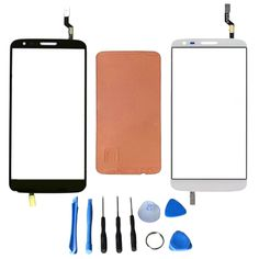 Replacement For LG G2 D802 Touch Screen with Digitizer Glass Panel Lens Sensor+Adhesive+Free Tools,Free Shipping&Tracking Number