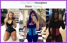 Get perfect Hourglass looks after wearing these beautiful waist training corsets