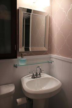 Add Storage To A Small Bathroom Or Maybe Above The Kitchen Sink Decorating Pinterest Sinks And
