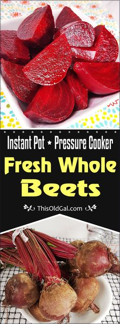 Pressure Cooker / Instant Pot Fresh Whole Beets Image