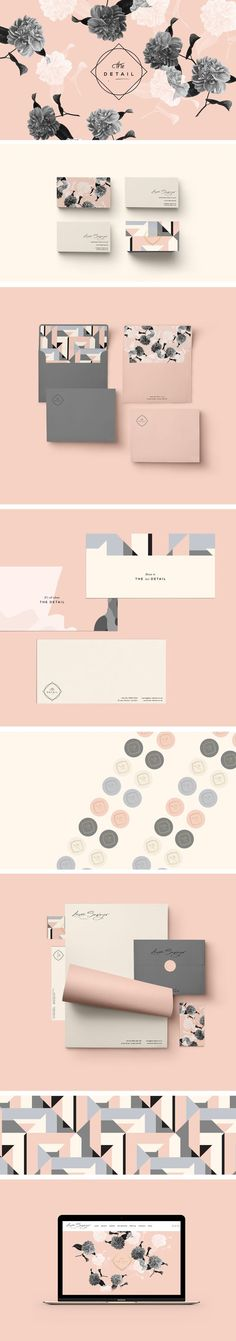 Laura Sawyer Brand Identity by Cocorrina: