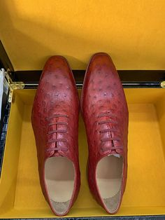 Men's ostrich shoes and casual exotic shoes for sale, all are genuine ostrich skin. Shoes Men, Men's Shoes, Dress Shoes, Men's Fashion Brands, Fashion Styles, Suit Fashion, Mens Fashion, Gentleman Shoes, Leather Shoes