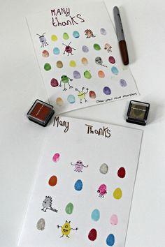 create your own fingerprint monsters