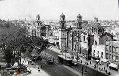 Avenida Hidalgo, Ciudad de México (c. 1933).: