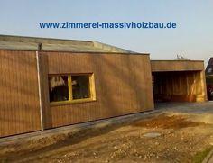 NUR HOLZ Einfamilien Massivholzhaus, zusätzlich mit  Holzfaser Einblassdämmung gedämmt