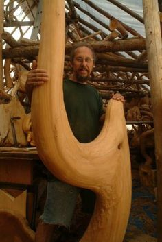 Presently working as Wildwood artist, wildwood supply, log builder, nature retreat owner/operator.  Horse-logged in the 70's, early 80's.  Have built 20 log ...