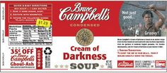 Blame It On The Voices: Bruce Campbell's Soup
