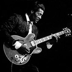 Chuck Berry. RIP....I LOVED CHUCKS GUITAR PLAYING! IT MOVED ME BIG TIME AS A CHILD...MADE ME PICK UP THE GUITAR!! STILL MOVES ME TODAY!