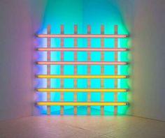 Dan Flavin Fluorescent Light Fixture