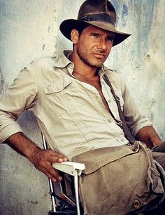 Anthropologist-Professor-Adventurer... Indiana Jones