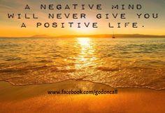 Conquer Negativity -