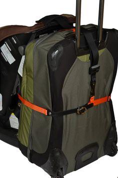 AmazonSmile : Go-Go Babyz Travelmate Car Seat Luggage Strap, Orange, One Size : Child Safety Car Seat Accessories : Baby