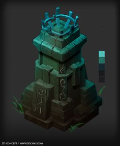 Sketchbook: 3D_Chae - Polycount Forum