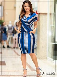 Modest Dresses, Casual Dresses, Casual Outfits, Fashion Dresses, Ankara Short Gown Styles, Short Gowns, Skirt Outfits, Cool Outfits, Business Casual Attire