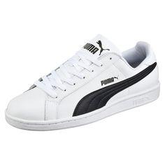 4081f98bfe3f0d Puma Mens Smash Trainers Sports Training Shoes Sneakers White Black White Puma  Shoes