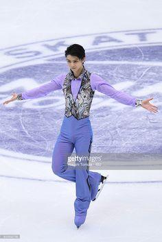 Yuzuru Hanyu of Japan competes in the Men short program during the ISU Grand Prix of Figure Skating NHK Trophy on November 25, 2016 in Sapporo, Japan.
