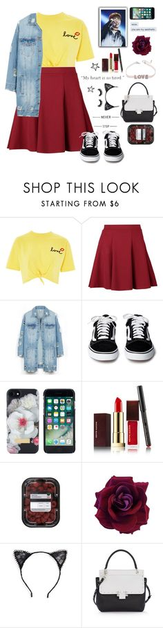 """your my aesthetic ~"" by yuna18 ❤ liked on Polyvore featuring Topshop, Boohoo, LE3NO, Ted Baker, Kevyn Aucoin, Tasha, Lanvin, Artémes, be and my"