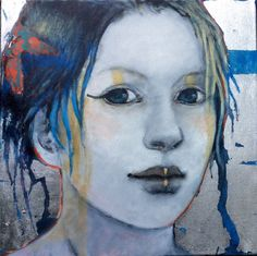 Joan Dumouchel - Contemporary Artist - Figurative Painting - Romane