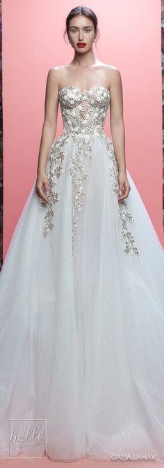 Wedding Dresses By Galia Lahav Couture Bridal Spring 2019 Collection- Queen of Hearts - Aelin #weddingdress #weddingdresses #bridalgown #bridalgowns #bridal #bride #wedding #weddings