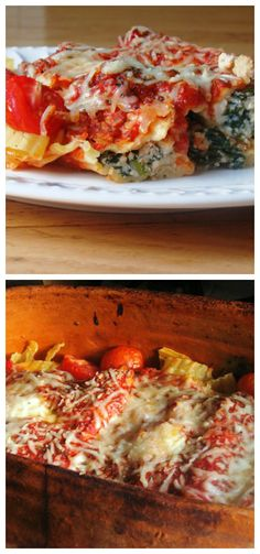 Cannelloni Stuffed with Spinach and Cheese   www.diethood.com   #pasta #cheese #dinner
