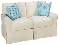 loveseat with slipcover furniture