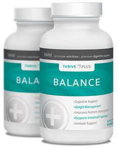 THRIVE Plus Balance - Thrive Balance Supplement - Balance your overall health, support your digestive system, and achieve your weight management goals.