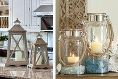 Faroles para iluminar y decorar