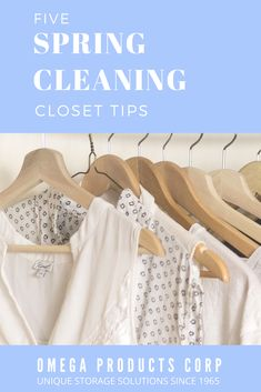 Spring Cleaning Closet Tips | Omega Products