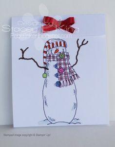 Rebel Inker: Snowman Cocoa pouch