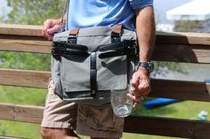 The Patrick Messenger Beverage Bag with hidden dispenser.