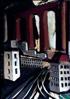 Mario Sironi Urban Landscape with Factory 1926