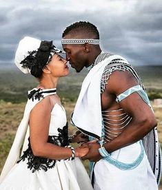 Spiffy Fashion New Xhosa Traditional Wedding Dresses - African Traditional Wedding, Traditional Wedding Dresses, African Love, African Beauty, Zulu, Black Love, Black Is Beautiful, Couple Noir, Xhosa Attire
