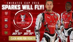 Arsenal - Emirates Cup 2015