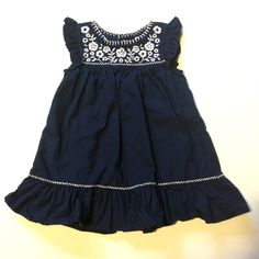 Check out this listing on Kidizen: Embroidered Navy Dress via @kidizen #shopkidizen