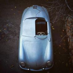 overboldmotorco: Porsche 356 from - a project in process, but the exterior is beautiful from this vantage point. by papawolfsupplyco. Porsche 356 Speedster, Porsche 914, Porsche Cars, Vintage Porsche, Vintage Cars, Car Photos, Car Accessories, Cool Cars, Super Cars