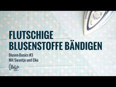 Blusen-Basics: feine flutschige Stoffe zuschneiden und nähen | Elle Puls