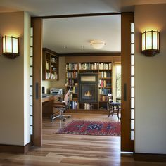 """Oak land"" house - contemporary - Bathroom - Other Metro - Roman Leonidov Studio Apartment Design, Home Office Design, Office Designs, Door Design, House Design, Apartment Floor Plans, Apartment Kitchen, Apartment Interior, Apartment Ideas"