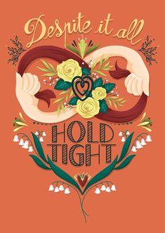 Night Illustration, I Shop, My Etsy Shop, Silent Night, Nursery Prints, Hold On, Bedroom Decor, Greeting Cards, Colours
