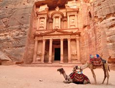 "The Ancient City of Petra; Exploring The Inner Beauty of the ""Lost City"" Unique Vacations, Free Vacations, City Of Petra, 10 Interesting Facts, Vacation Planner, Short Break, Lost City, Trip Planning, Cool Photos"